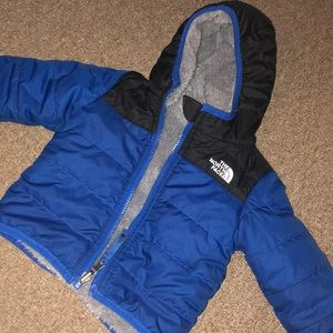 Toddler boys north face coat